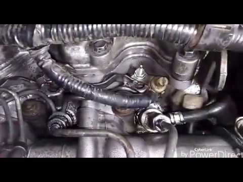 Toyota Corolla 2C. Ремонт форсунок, регулировка клапанов.