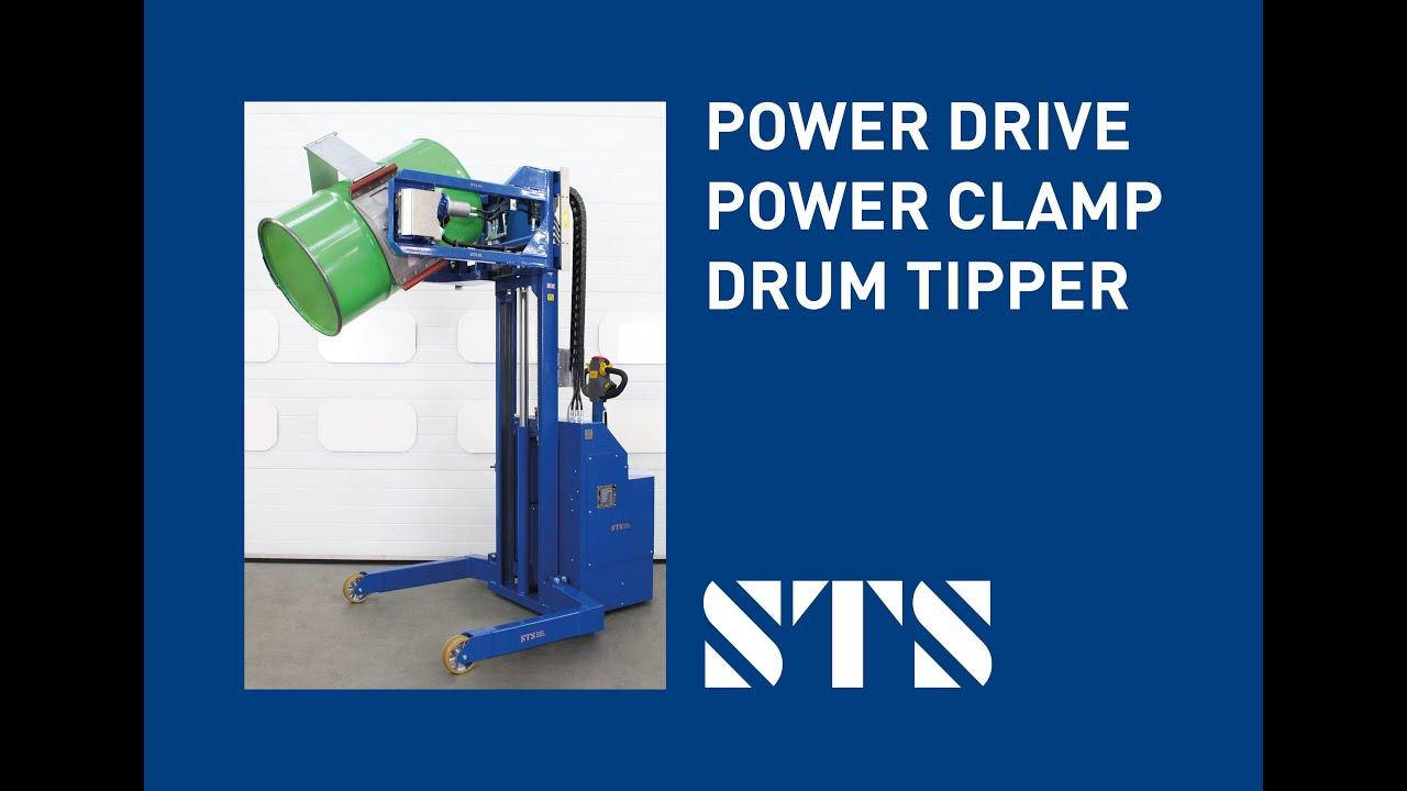 Power Drive Power Clamp Drum Tipper (Model: STE05-RRH01) 2021