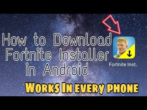 How To Download Fortnite Installer In Android | Download Fortnite Mobile | No Sign Up