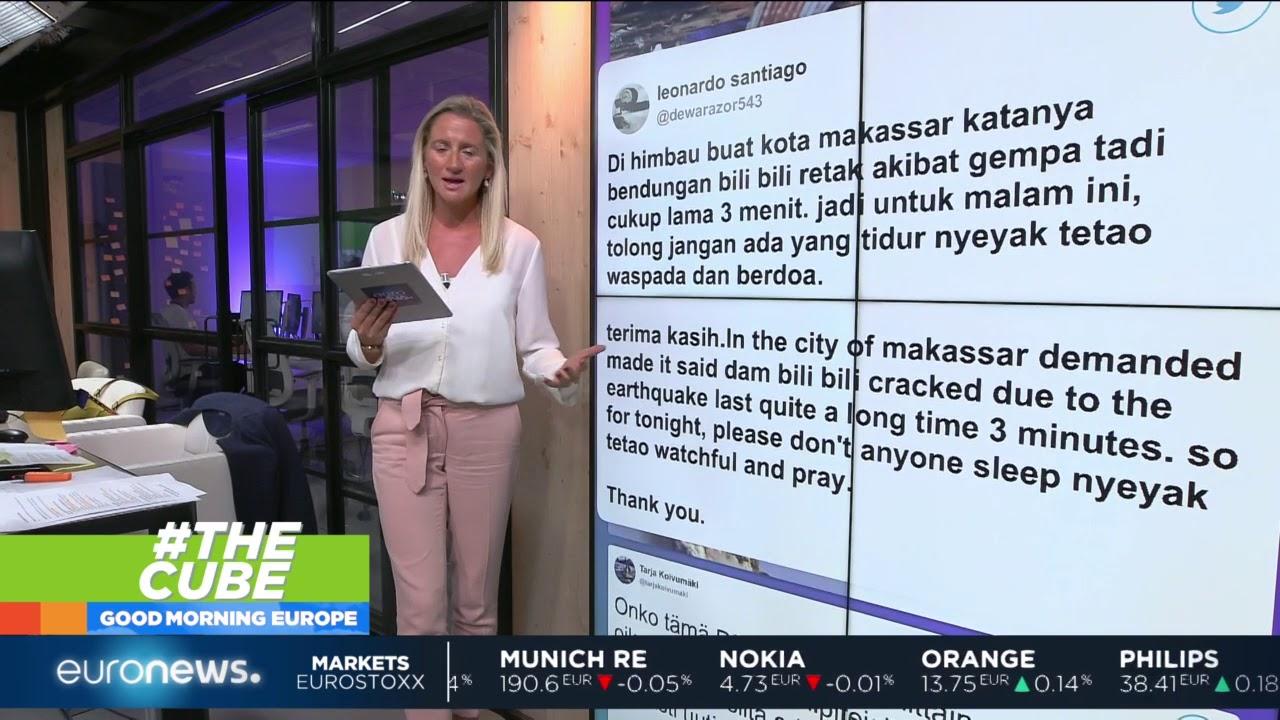 #TheCube | Indonesia battles fake news following the earthquake and tsunami
