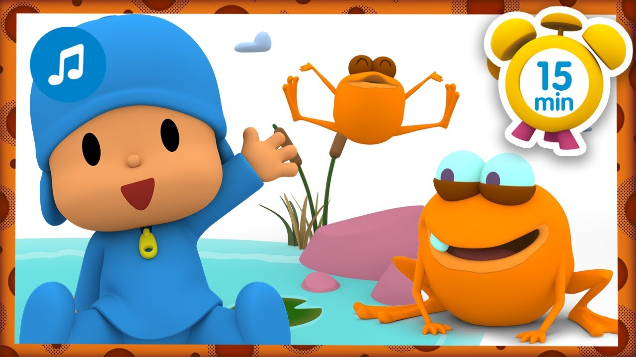 🐸 The frog sang a song [ 15 minutes ] | Nursery Rhymes & Baby Songs - Pocoyo