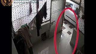 GHOST SKELETON CAUGHT ON CCTV