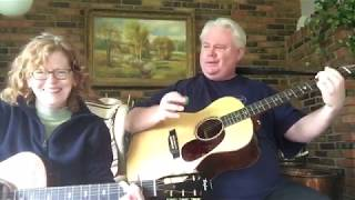 "Jim Miller & Beth Miller performing ""Two of Us"" by the Beatles"