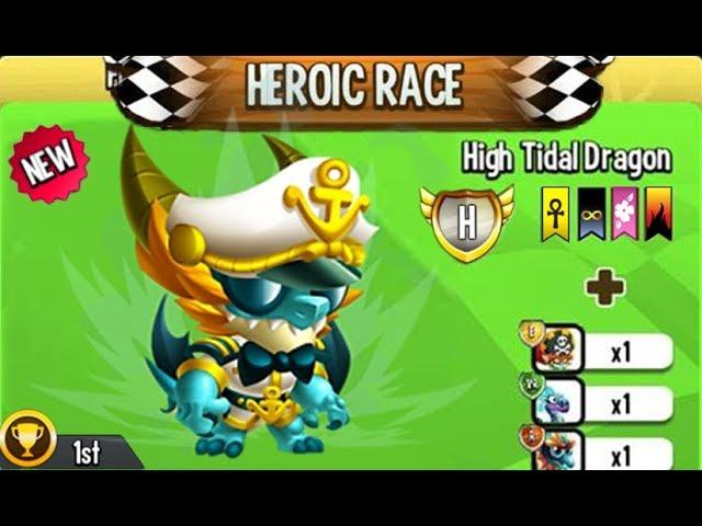 Dragon City - 1st Winner High Commander Dragon HEROIC RACE 2018 ????