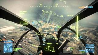 Battlefield 3: Perfect Helicopter Game (How to fly) AH-Z1