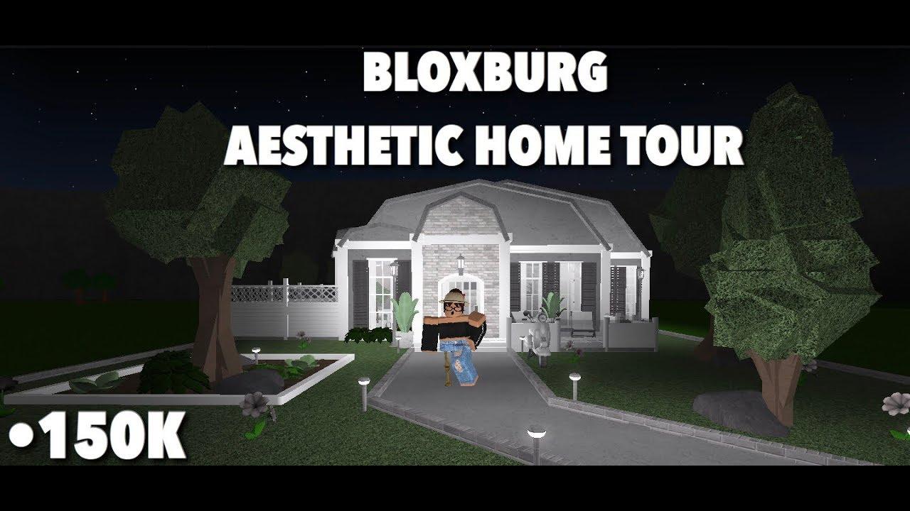 Bloxburg Aesthetic Home Tour Youtube