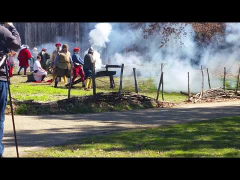 Military through the Ages (at Jamestown Settlement): 2018