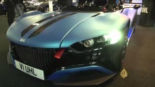 سيارات تعمل بالهيدروجين بمعرض في لندن