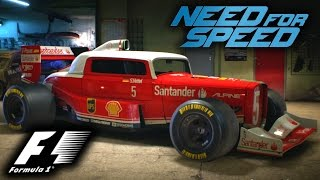 F1 STYLE HOT ROD CAR - Best F132 F1 Wraps in Need for Speed 2015