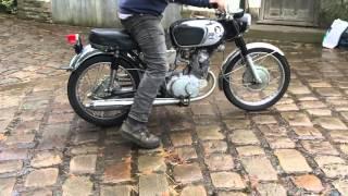 Honda CB160 for sale on eBay 1968