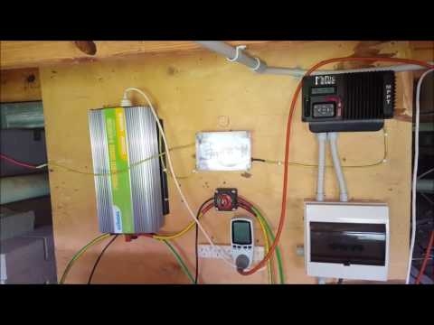 Off Grid Solar Power - How it's all Connected