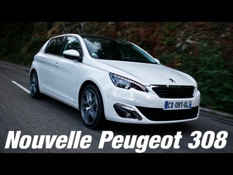 essai nouvelle peugeot 308 youtube. Black Bedroom Furniture Sets. Home Design Ideas