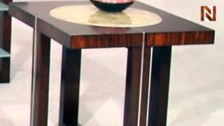 Crylen End Table 805-02 By Fairmont Designs