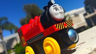 Thomas & Friends Victor Wooden Railway Toy Train Review By Mattel Fisher Price Character Friday