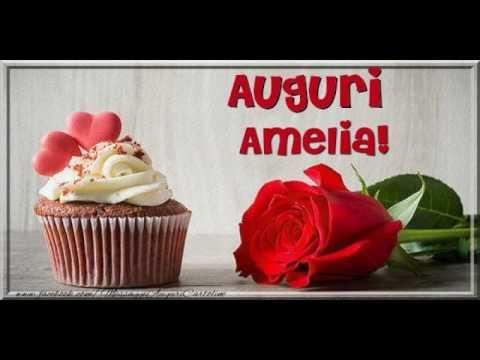 Tanti Auguri A Te Amelia Youtube
