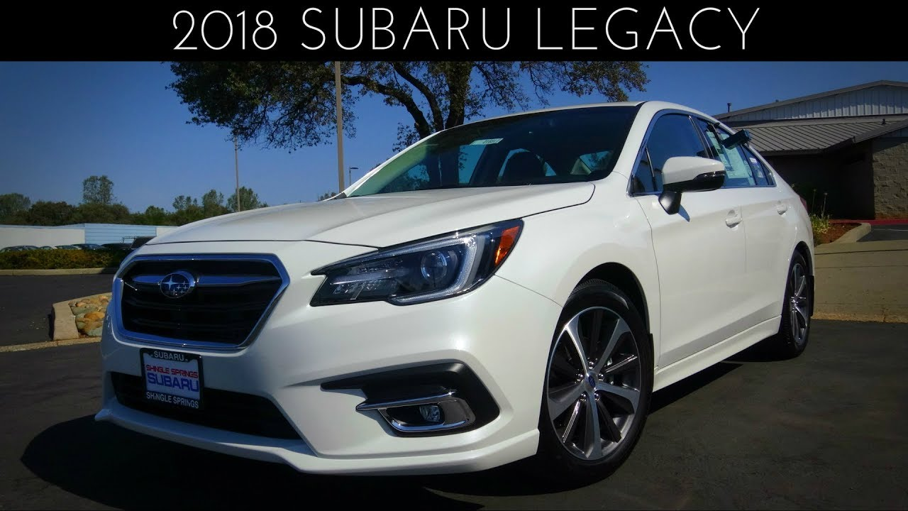 2018 Subaru Legacy Limited 2.5 L 4-Cylinder Review - YouTube