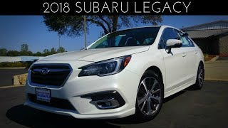 2018 Subaru Legacy Limited 2.5 L 4-Cylinder Review