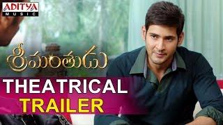 srimanthudu theatrical trailer mahesh babu shruti haasan
