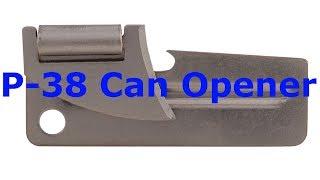 Открывалка для консервов P-38 Can Opener [Обзор SEAL Ukraine]