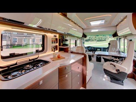 Luxury Morelo Empire Liner motorhome based on Mercedes Atego