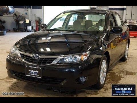 2008 Subaru Impreza 2.5 AWD Sedan