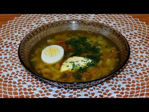 Груздянка - суп из солёных груздей. Gruzdyanka - mushroom soup.