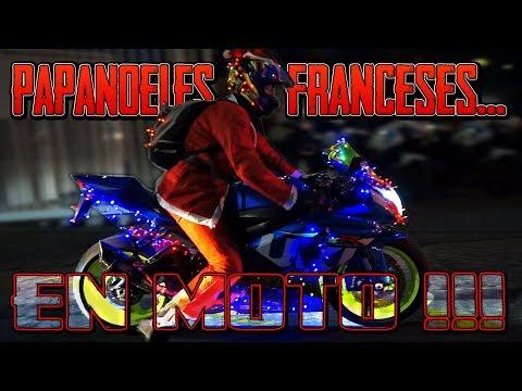 PAPA NOEL RIDERS MOTEROS EN FRANCIA !!! HOU HOU HOU !!!