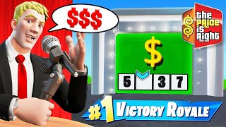 The OFFICIAL PRICE Is RIGHT Game Show in Fortnite