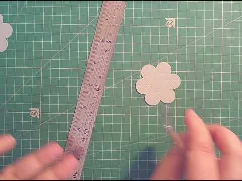 Interactive handmade flower embellishment tutorial