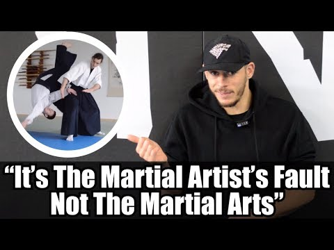My martial art failed me  Some people told me that it was my