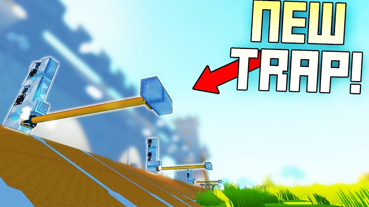 New Survival Trap and Base Defense Experiment! - Scrap Mechanic Survival Mode [SMS 70]