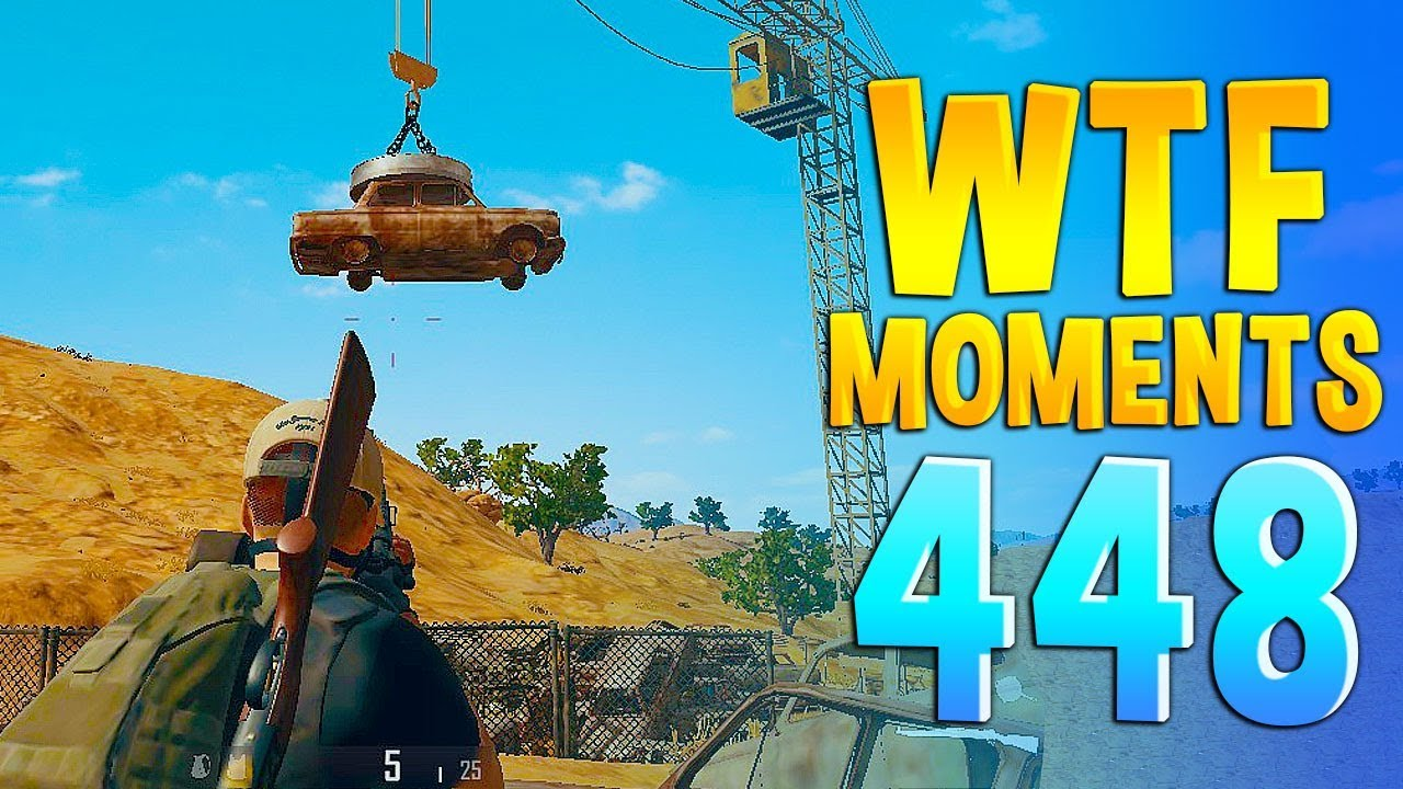 PUBG Daily Funny WTF Moments Highlights Ep 448