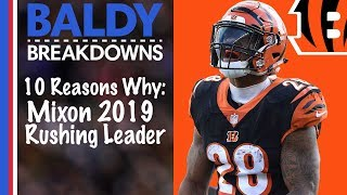10 Reasons Why Joe Mixon Will Lead the League in Rushing in 2019 | Baldy Breakdowns Video