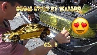 Szkoła Druciarstwa Dubai Style by Wazzup czyli Bmw Gold Edition :D część 3