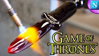 We Made a REAL Dragon Glass Dagger from Game of Thrones   Nickipedia