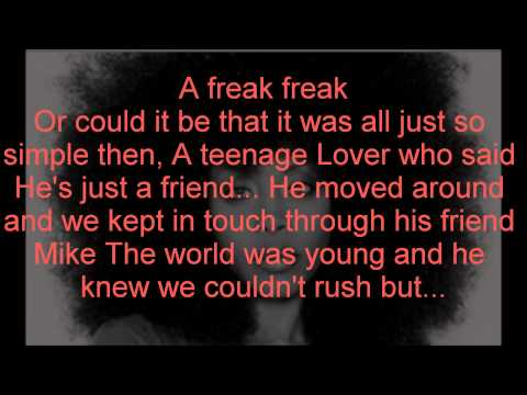 Erykah Badu Ft. Common - Love Of My Life (Lyrics)
