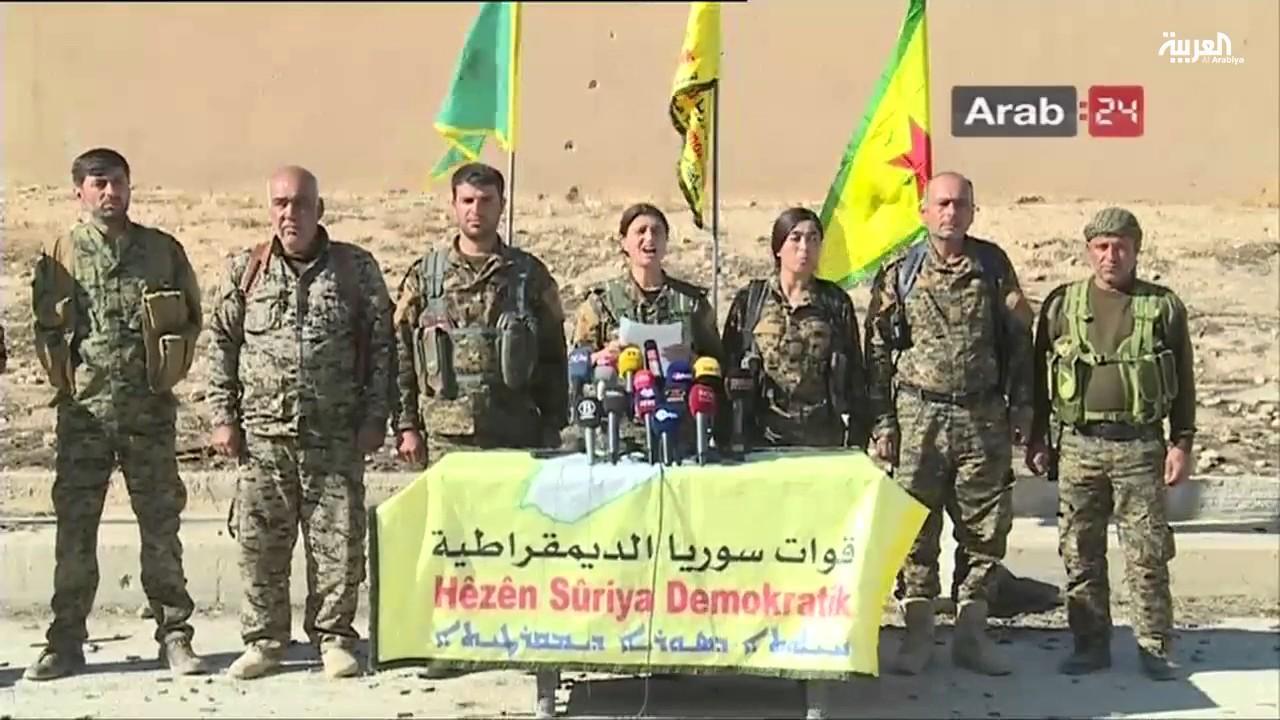 انطلاق معركة الرقة ضد داعش