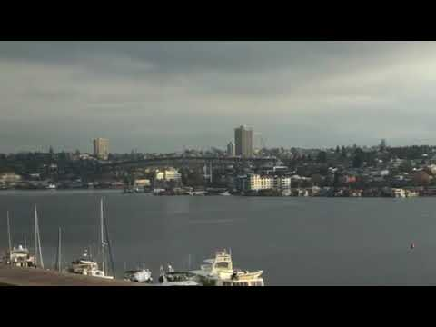 South lake union water plane take off