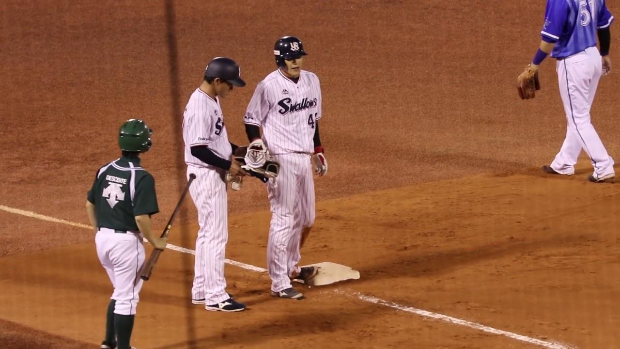 起用の機会が減少を避けるため、一塁手として起用