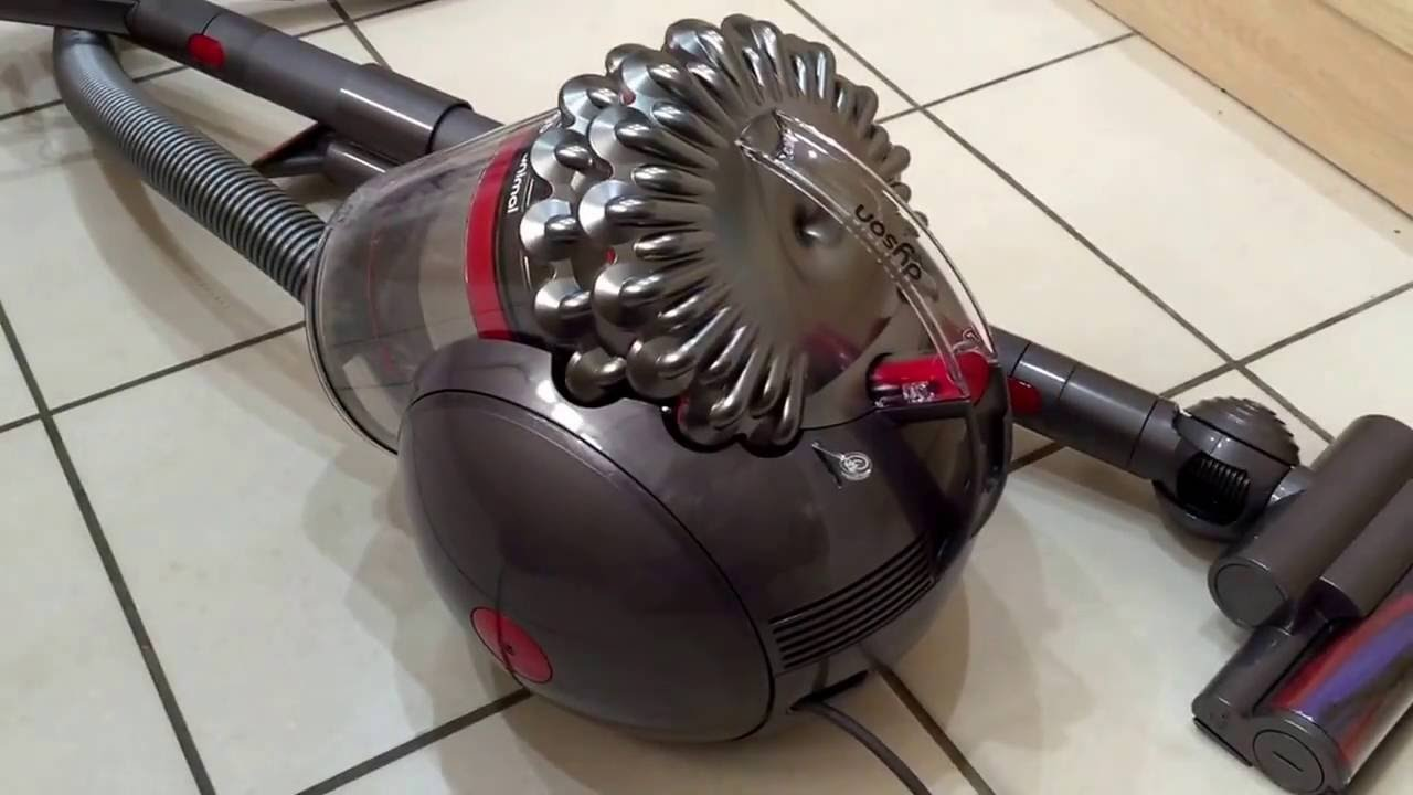 dyson cinetic big ball cy22 animal bagless cylinder vacuum cleaner review youtube - Dyson Cinetic