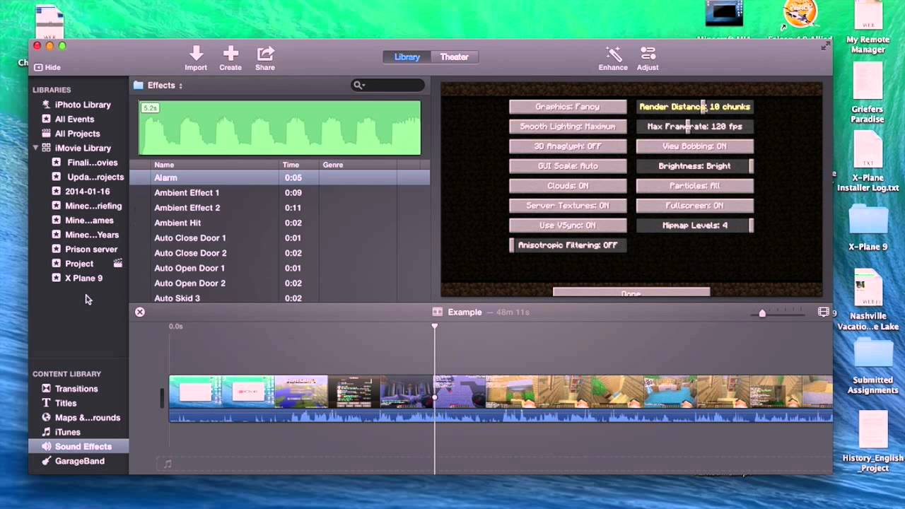 How to use iMovie on a Macbook Pro