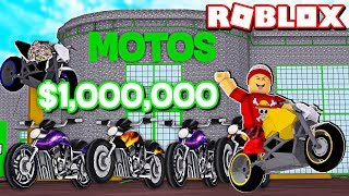 BUILDING MY STORE $1 million motorcycle in Motorcycle Dealership Tycoon 🎮 → ROBLOX