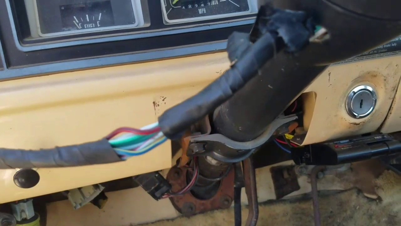 turn signal switch replacement 77 ford truck [ 1280 x 720 Pixel ]