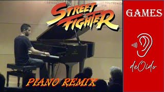 Street Fighter Remix (piano)