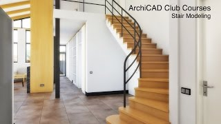 Stair Modeling in ArchiCAD