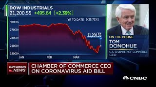 Stimulus bill needs to be approved tomorrow to implement resources immediately: US Chamber of Commer