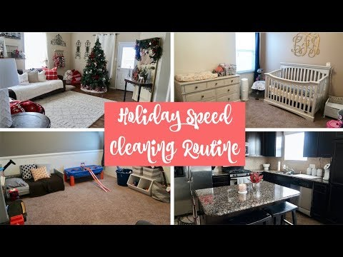 SPEED CLEANING FOR CHRISTMAS & DECLUTTERING KIDS ROOMS || VLOGMAS ...