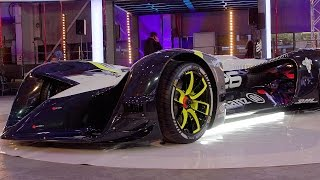 The World's First Electric Driverless  Roborace  Racing Car   Top Gear