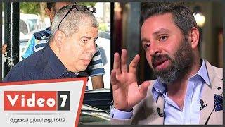 بالفيديو.. شوبير والثعلب وصالح ونجوم الرياضة يتوافدون على جنازة طارق سليم