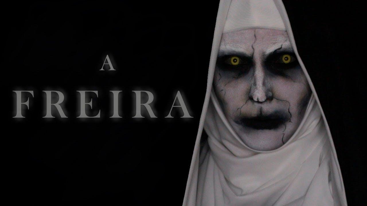 A Freira  Valak- Halloween Make Up - Youtube-5172